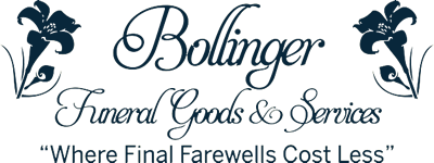 Bollinger Funeral Goods and Services Logo